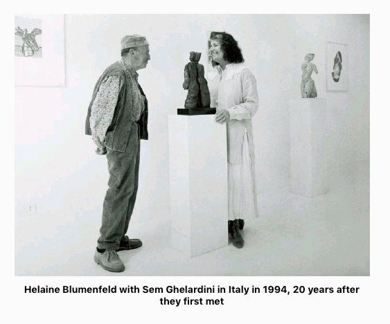 Helaine Blumenfeld and a Life Changing Friendship